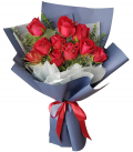 Roses in Bouquet To Cebu